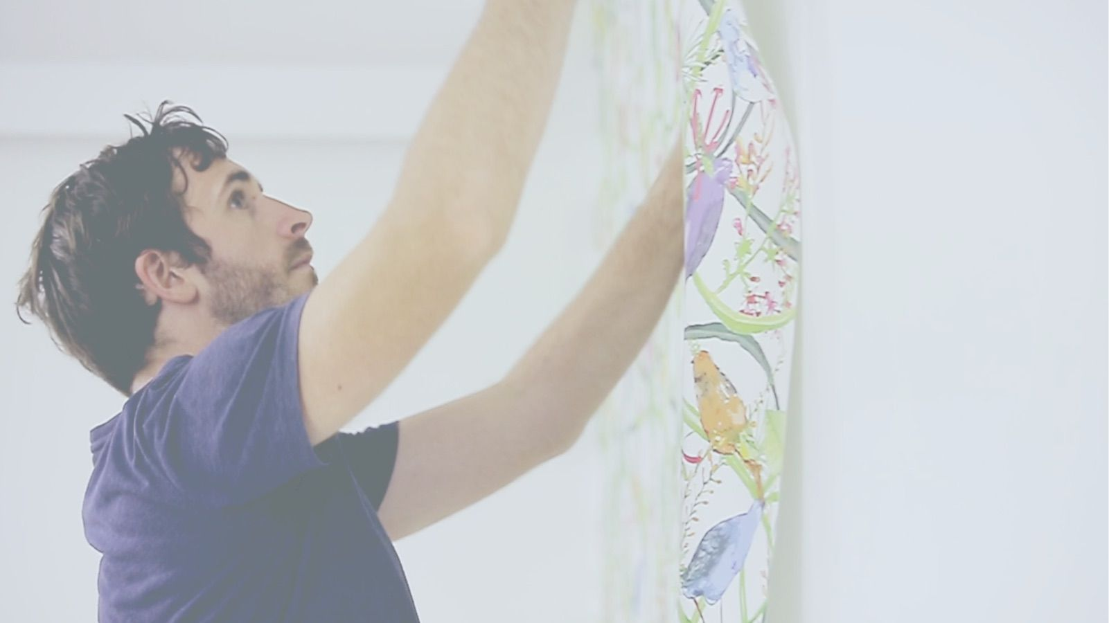Traditional wallpaper Installation and Care