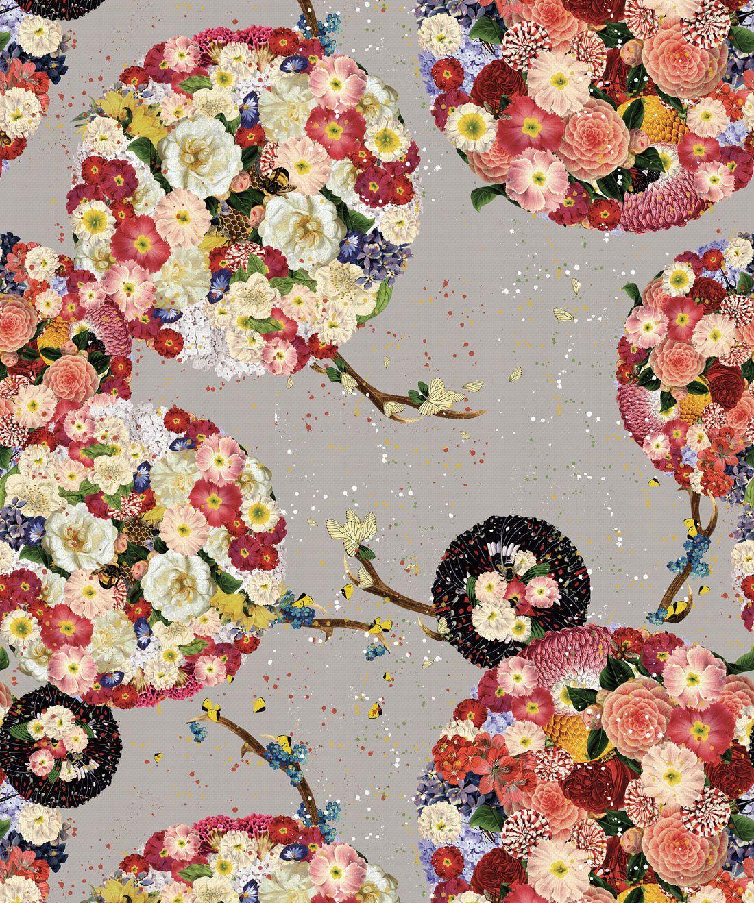 Flower Bomb Wallpaper