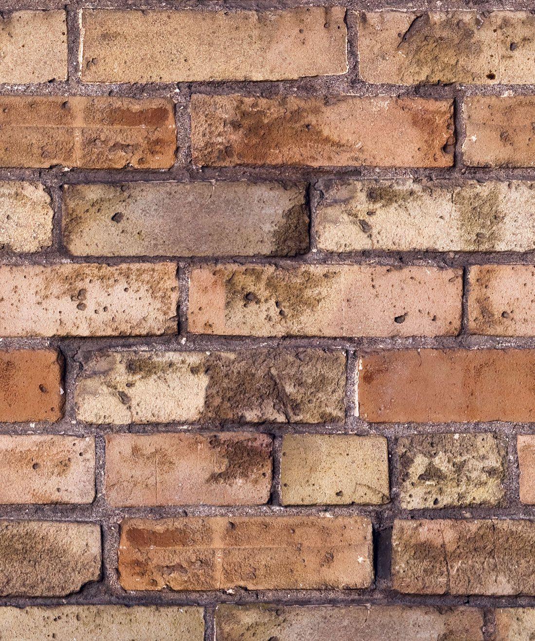Old Brown Bricks Wallpaper