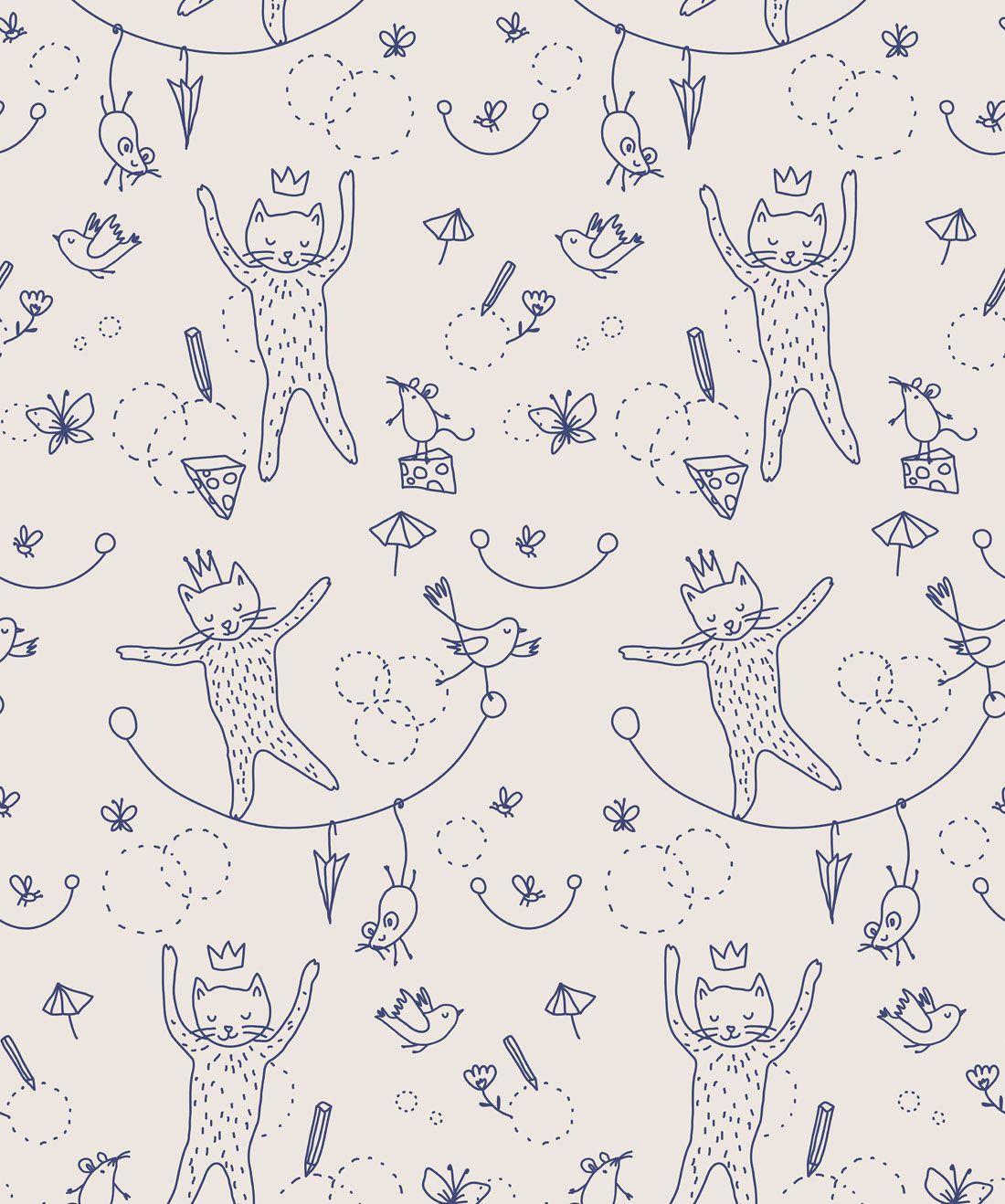 Mice & Cats Wallpaper