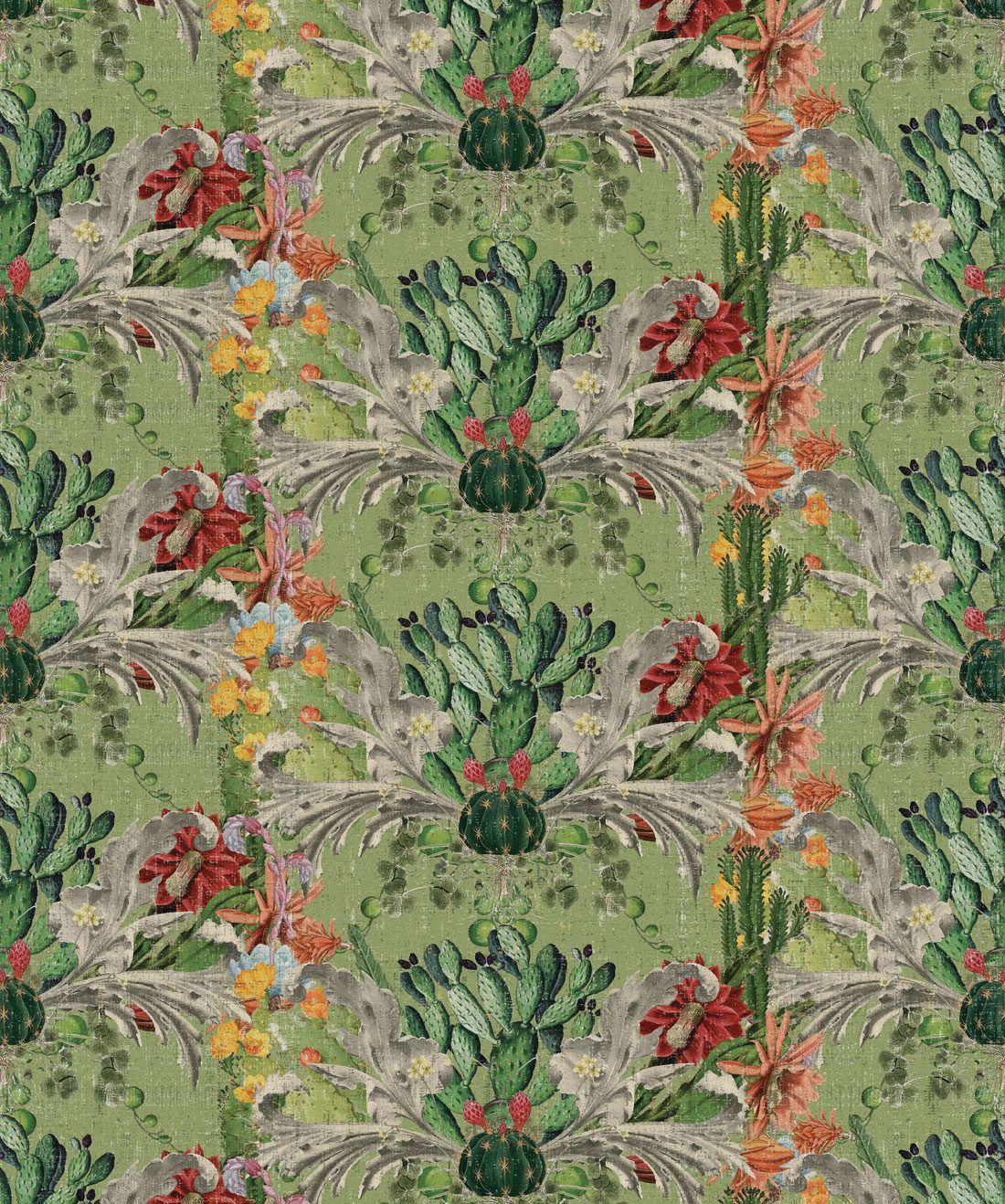 Cactus Wallpaper Verde
