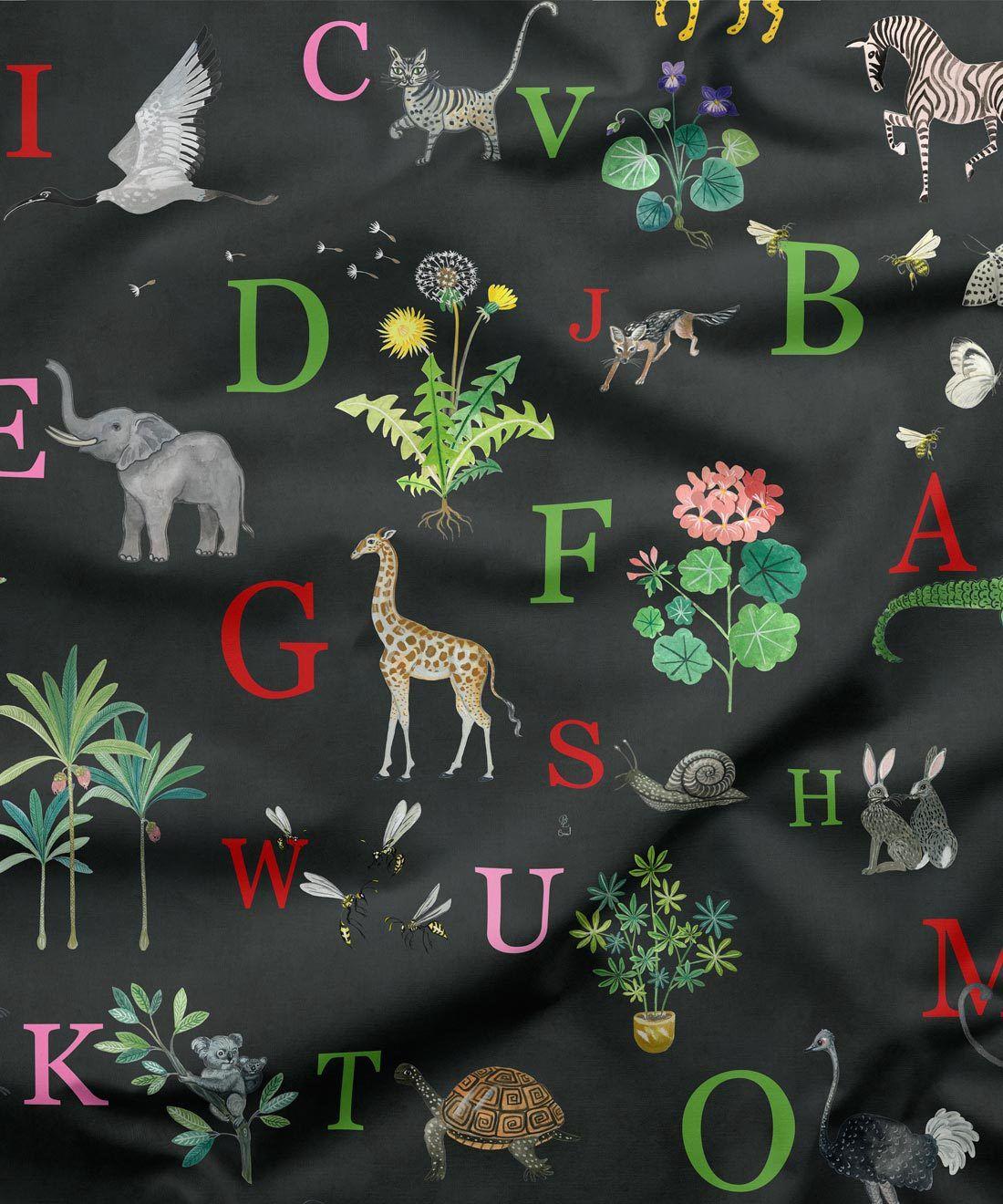Noah's Fabric Ebony Fabric