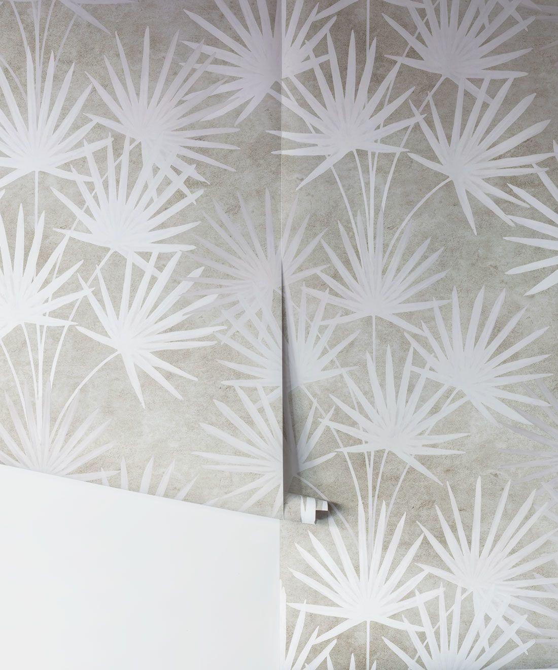 Oriental Palm Wallpaper