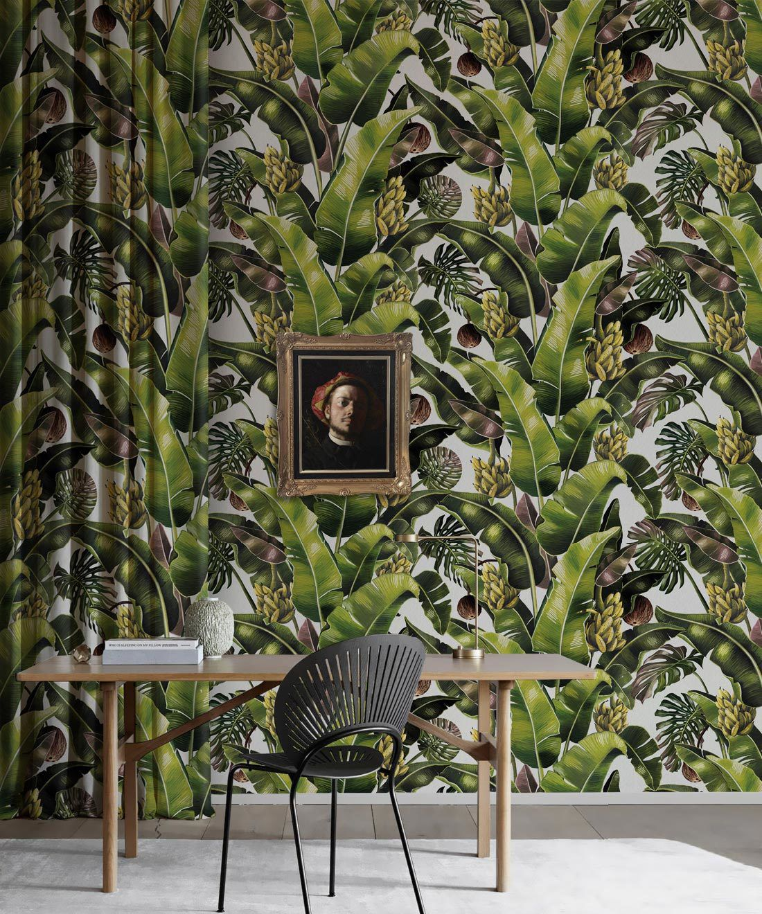 Kingdom Palm Day • Tropical Leaf Wallpaper • Milton & King