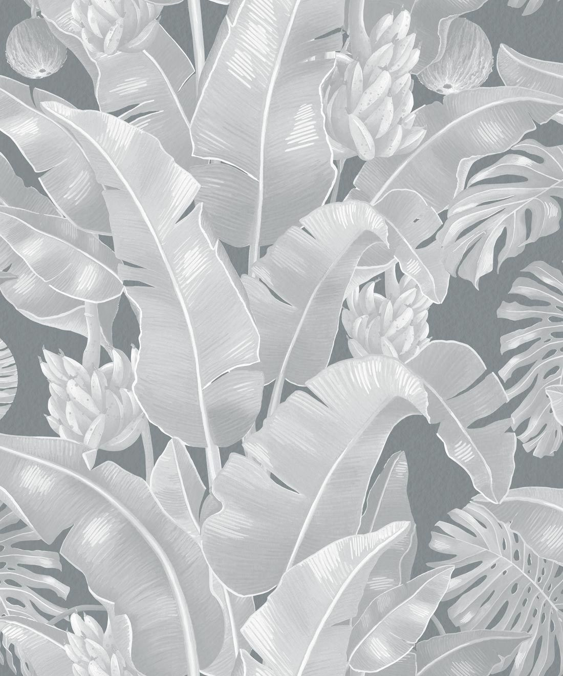 Kingdom Palm Roca • Tropical Leaf Wallpaper • Milton & King