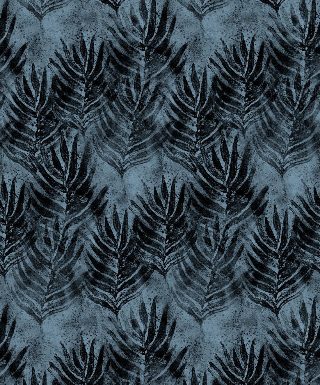 Shibori Leaf Wallpaper