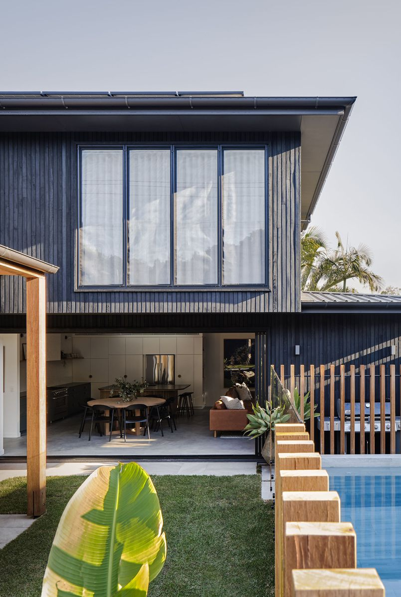 The Bay Villa house at Barefoot Escapes in Byron Bay Australia designed by The Designory