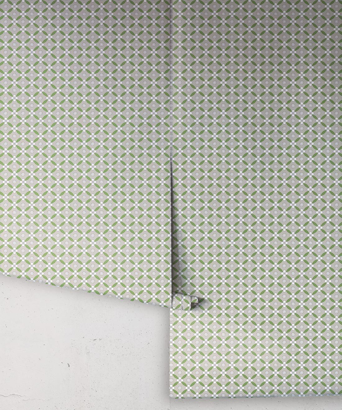 Petite Wallpaper • Fern Green • Rolls