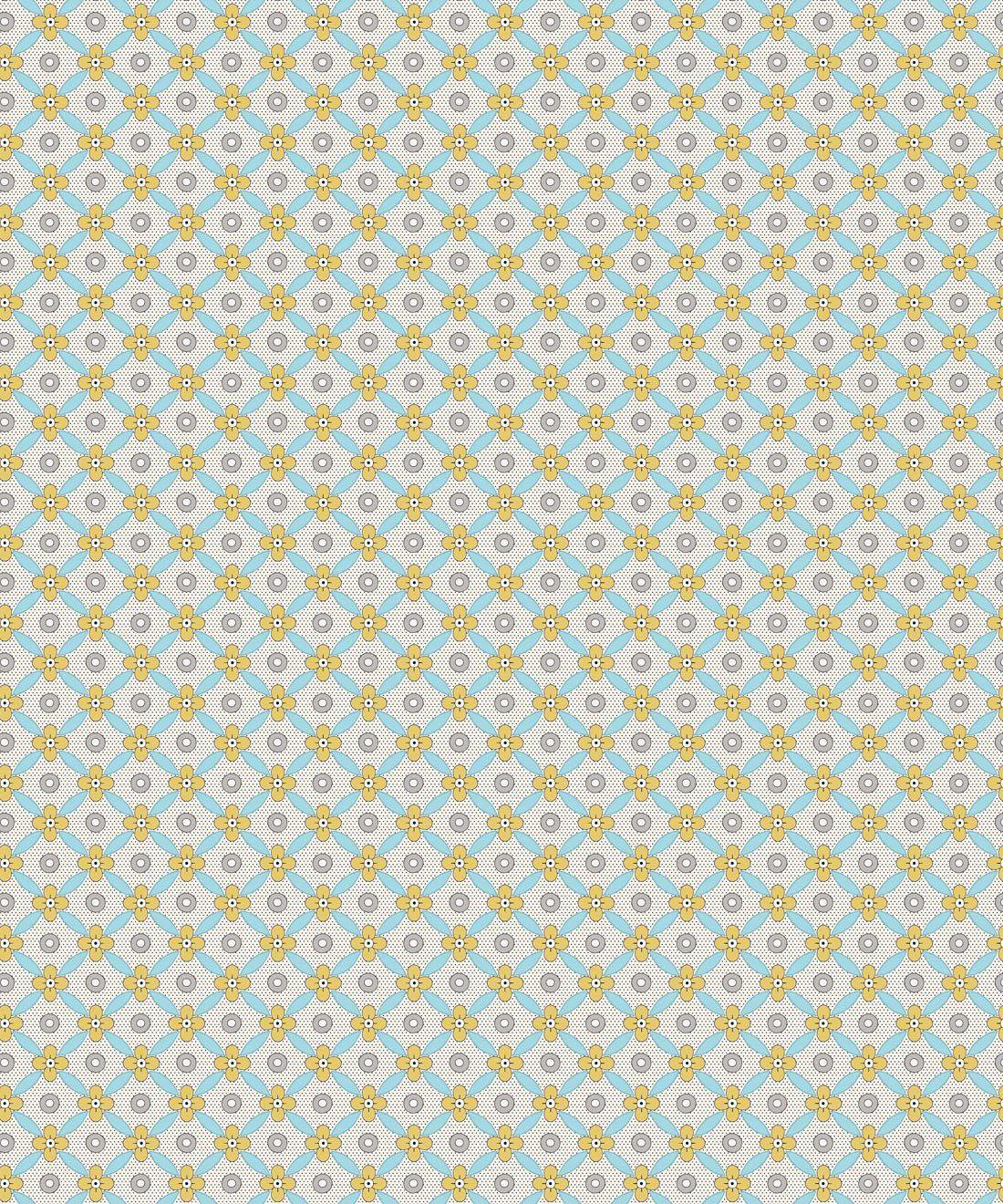 Petite Wallpaper • Mustard • Swatch