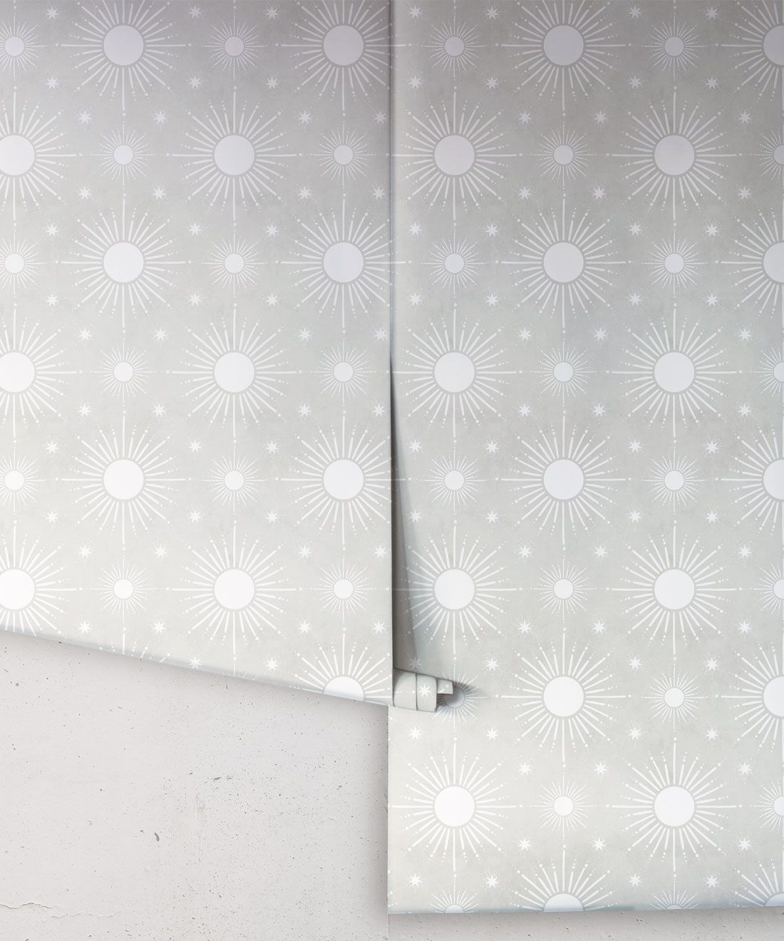 Sun Light Star Bright Wallpaper • Beige • Rolls
