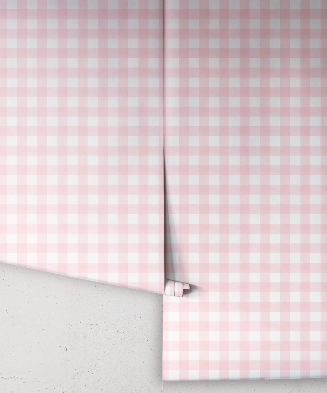 Check Wallpaper • Pink •Rolls