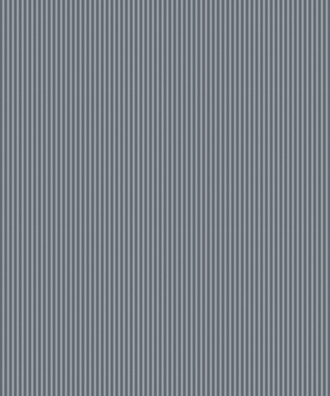 Ticking Stripe Wallpaper • Grey Wallpaper • Swatch