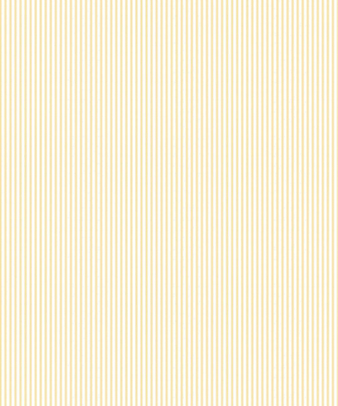 Ticking Stripe Wallpaper • Sunshine Yellow Wallpaper • Insitu