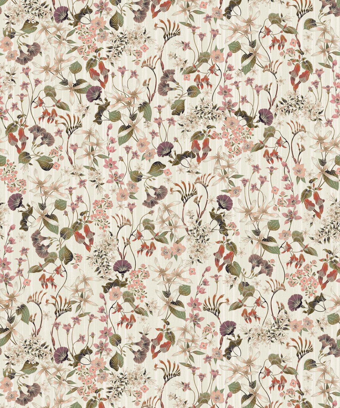 County Flowers Wallpaper