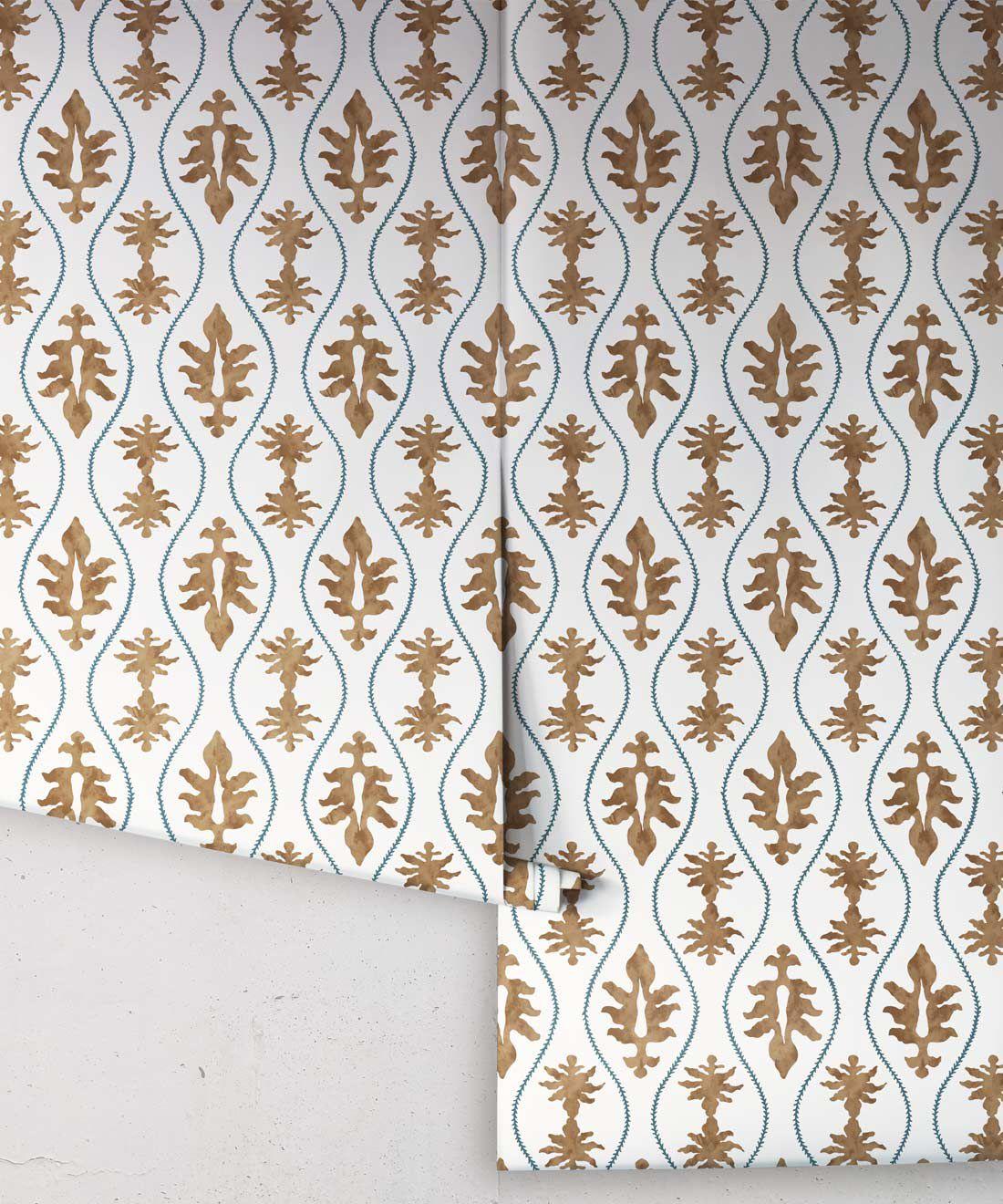 Great Jones Wallpaper • Dianne Bergeron • Chestnut •Roll