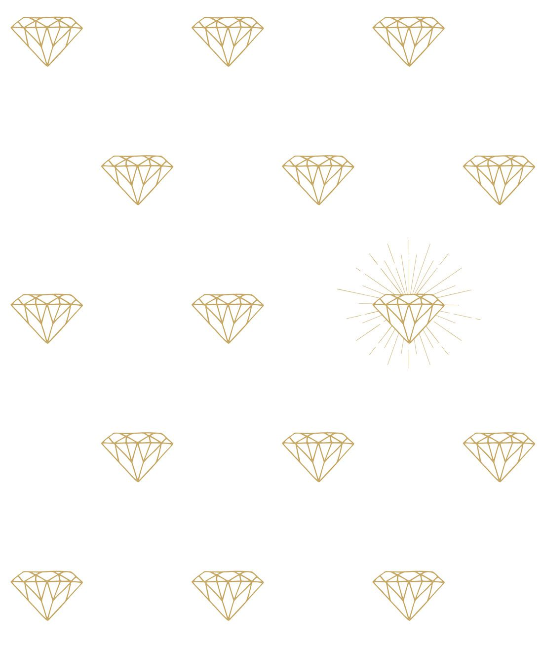 Gold Diamonds Wallpaper