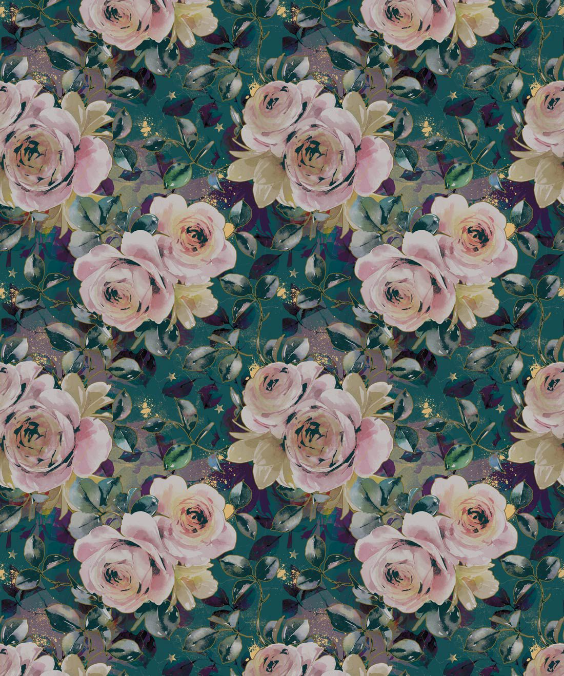 English Roses Wallpaper