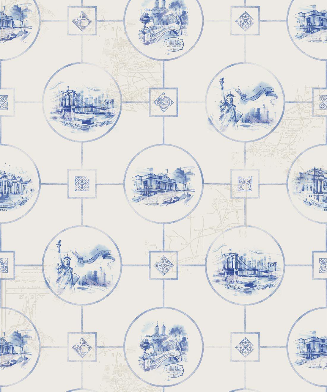 Monument Tiles Wallpaper