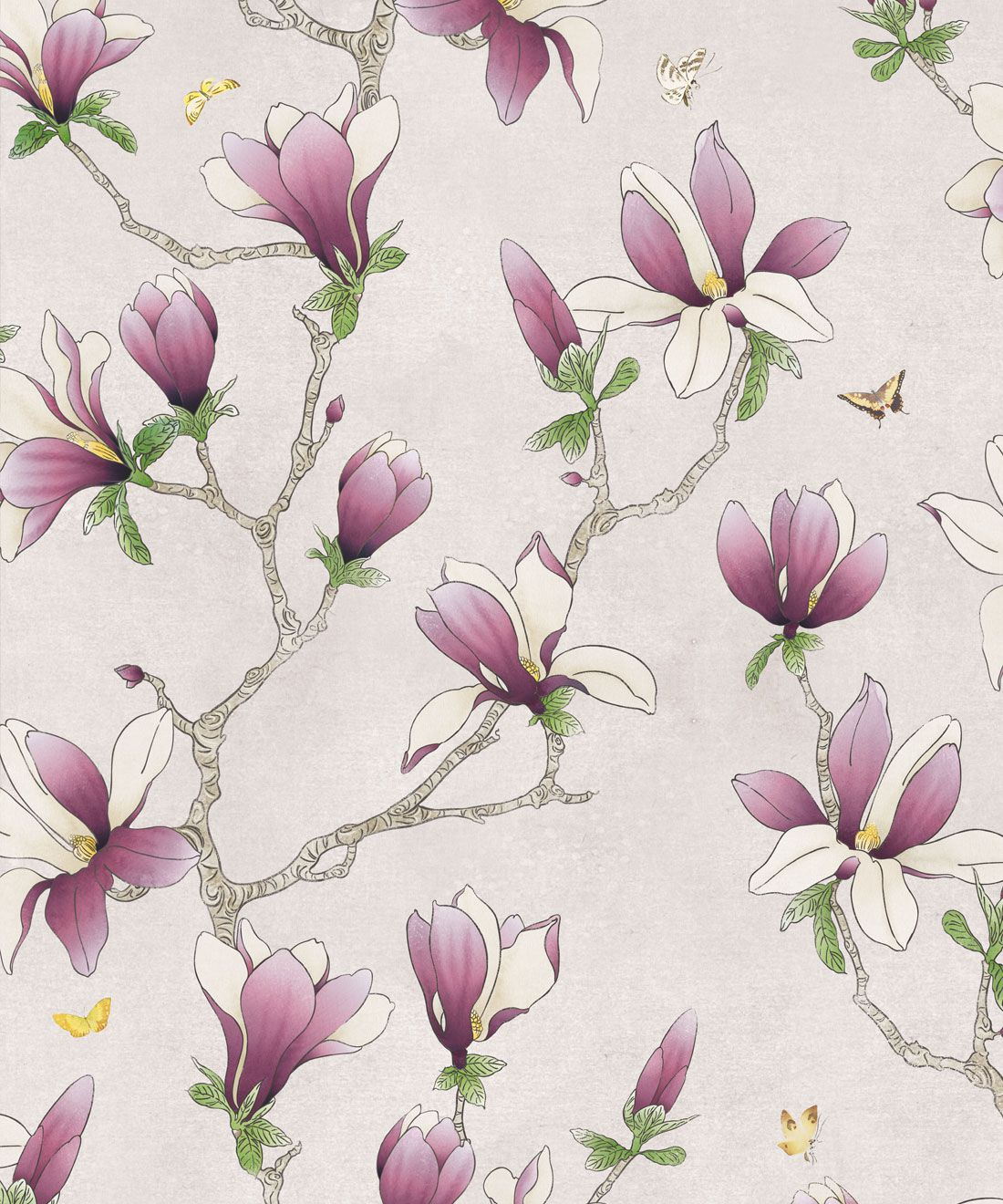 Magnolia Wallpaper (two rolls)