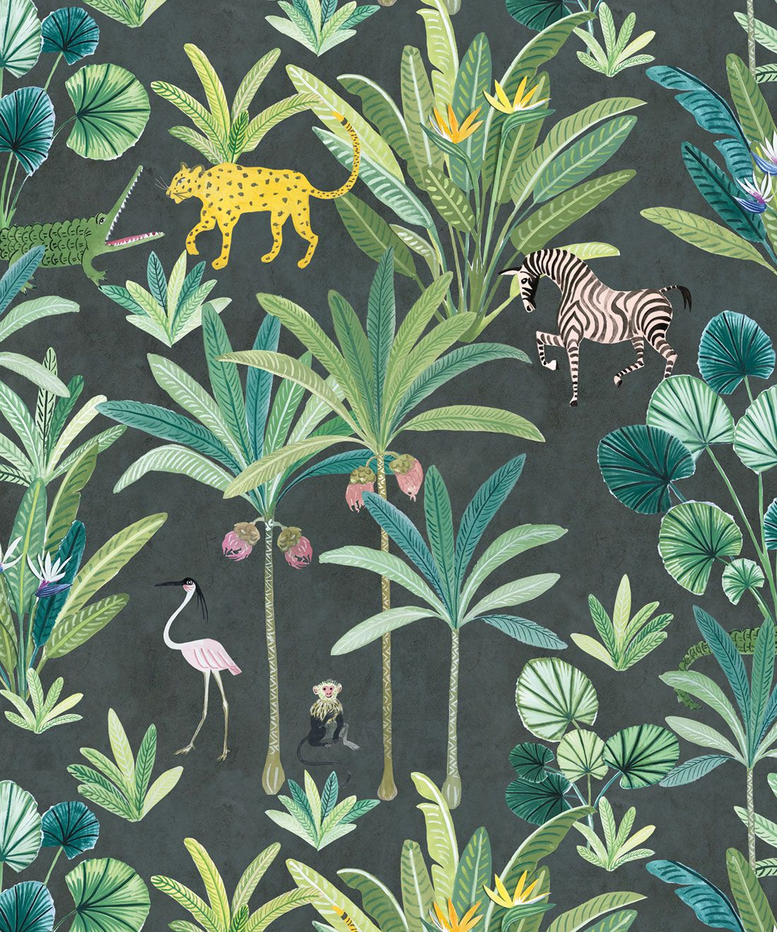Animal Kingdom Wallpaper (Two Rolls)