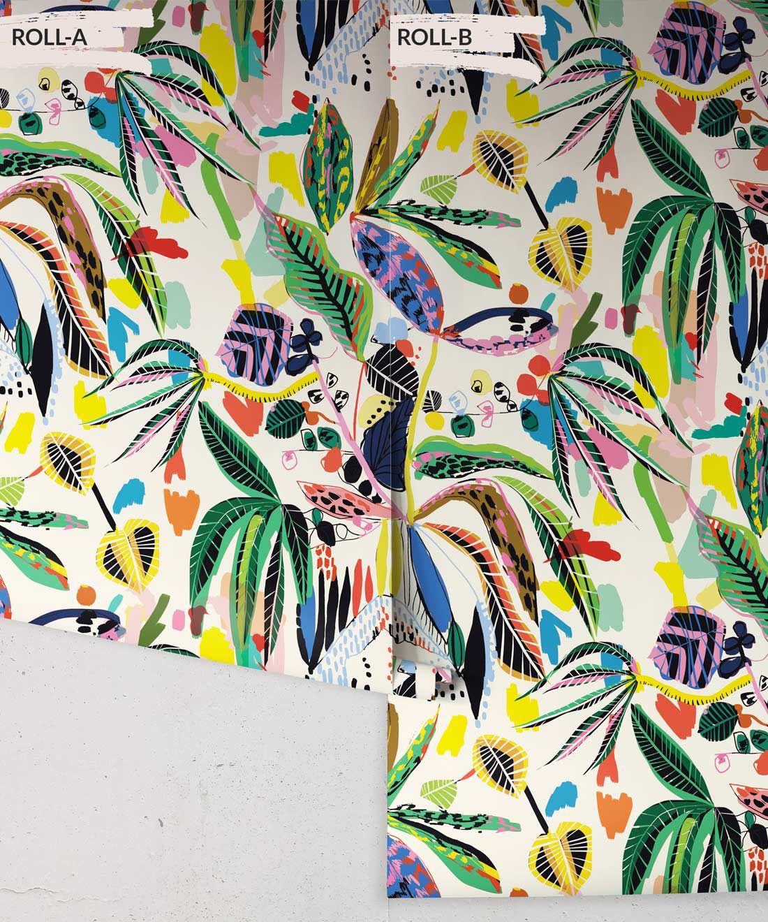 Wilderness Wallpaper, Colourful Tropical Wallpaper, Milton & King Europe