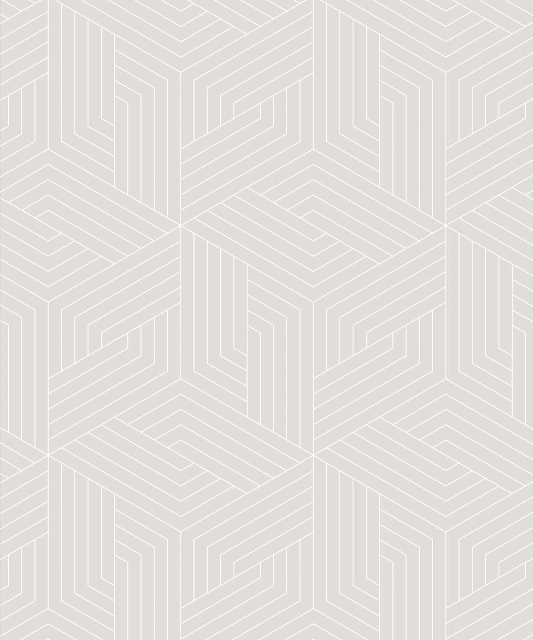 Warm Grey Geometric Illusions • Milton & King
