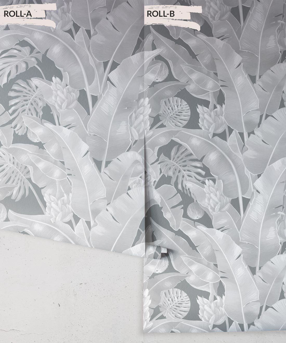 Kingdom Palm Roca • Tropical Leaf Wallpaper • Milton & King