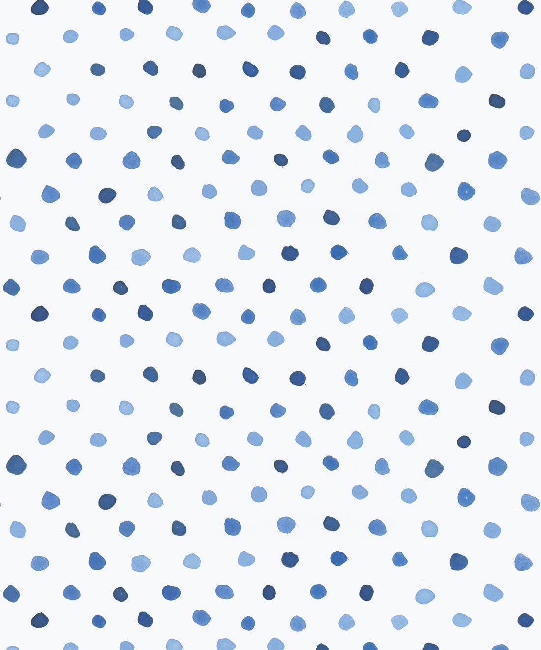 Dibba Dots Wallpaper • Blue Spotted Wallpaper • Milton & King Europe