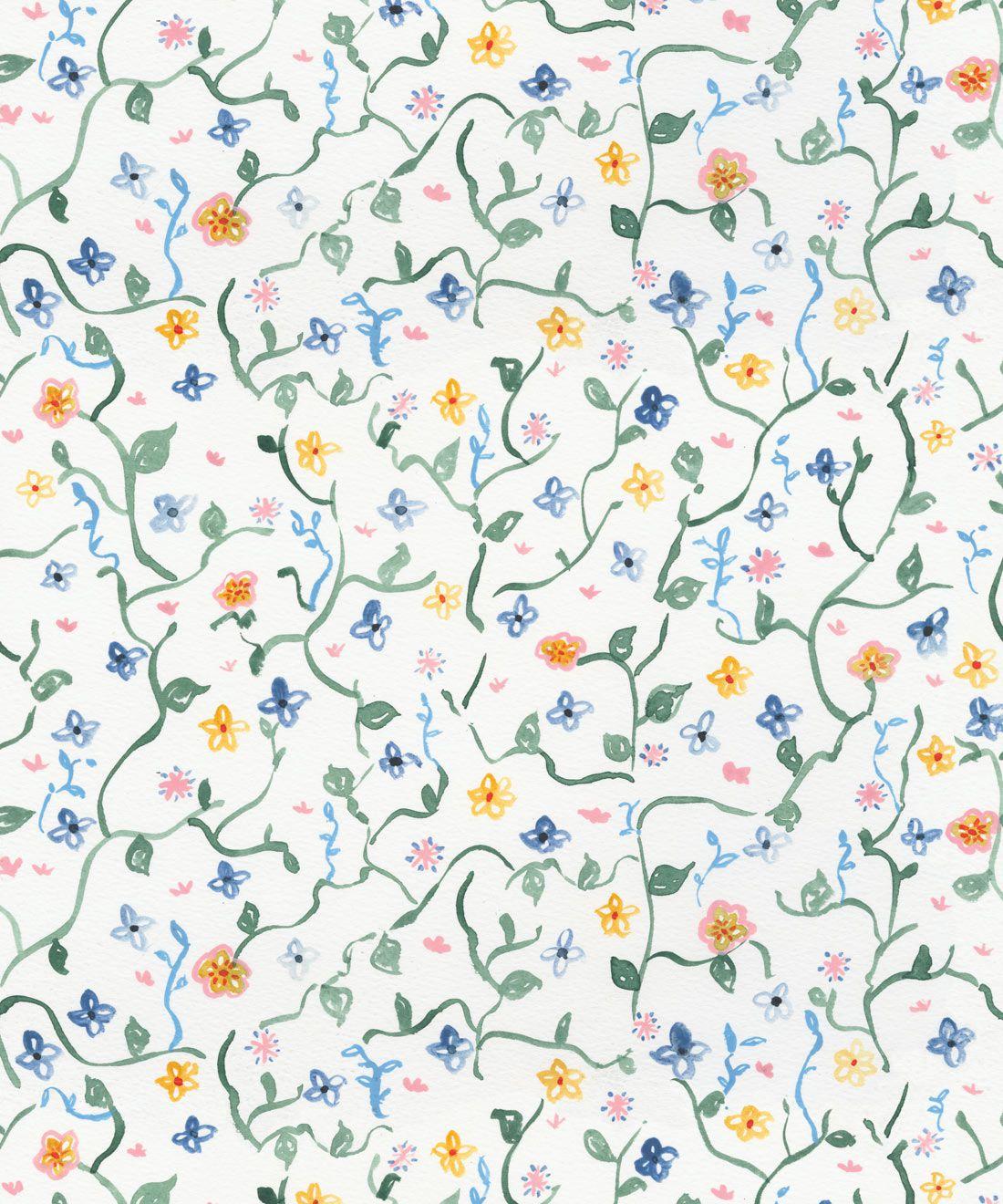 Wild Garden Wallpaper