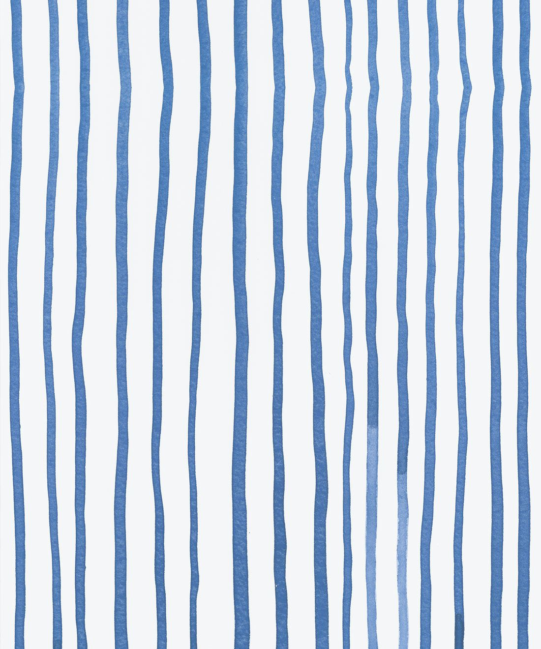 Zighy Stripes • Striped Wallpaper • Blue Stripes • Milton & King Europe • Georgia MacMillan