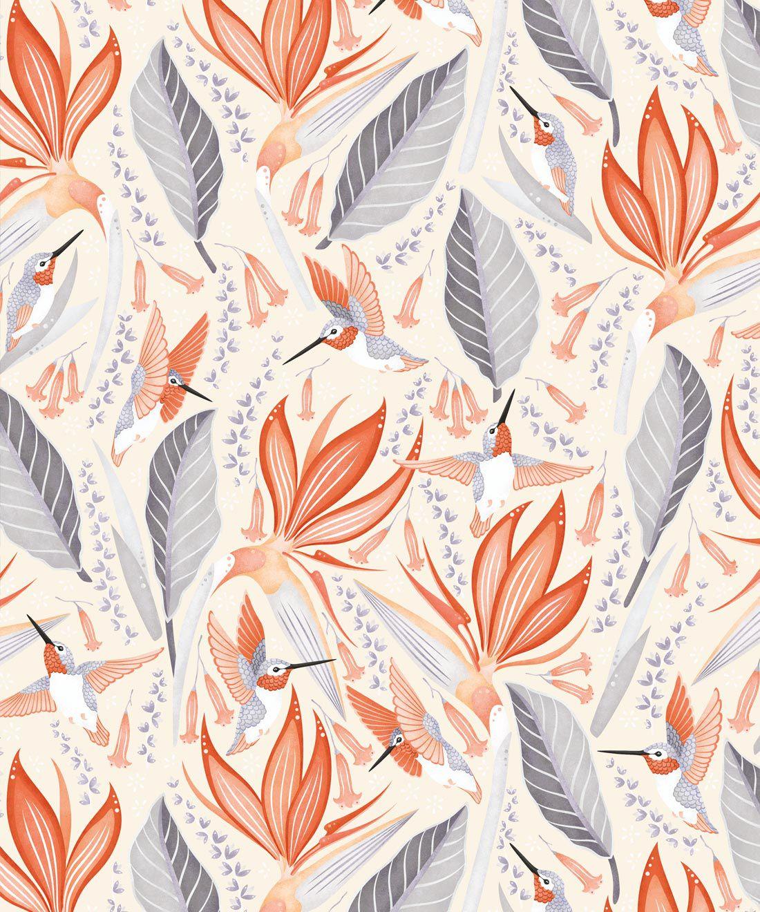 Hummingbird Wallpaper • Birds Of Paradise Flower • Bird Wallpaper