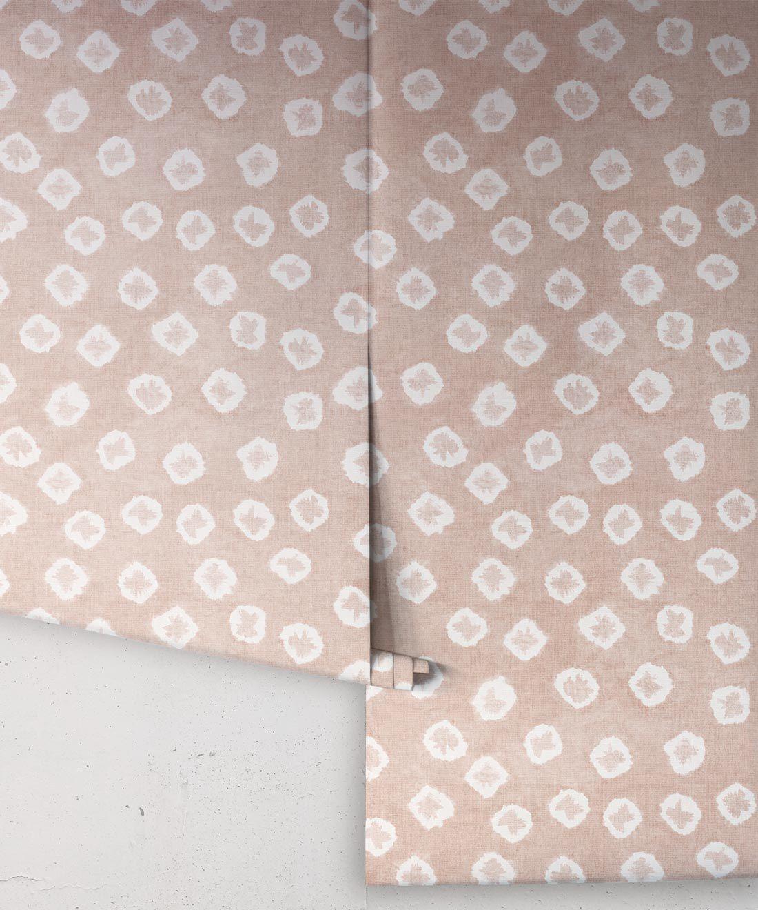 Peaches Kanoko Wallpaper • Shibori