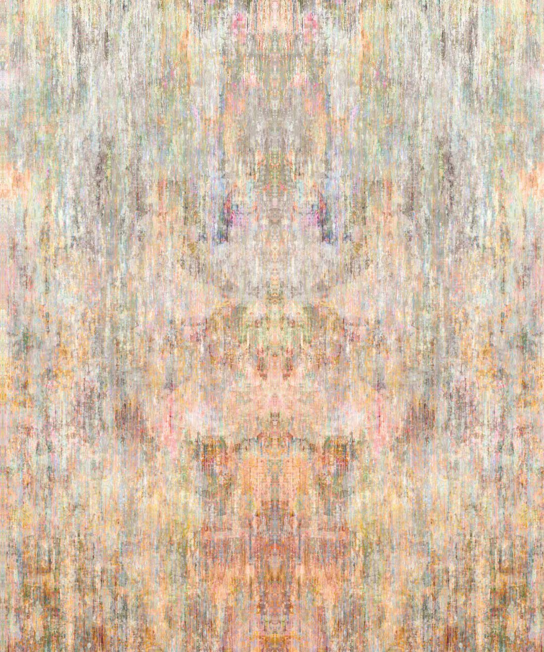 Patina Wallpaper by Simcox • Color Light • Abstract Wallpaper • swatch
