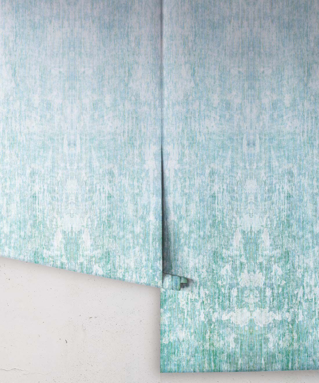 Patina Wallpaper by Simcox • Color sky • Abstract Wallpaper • rolls