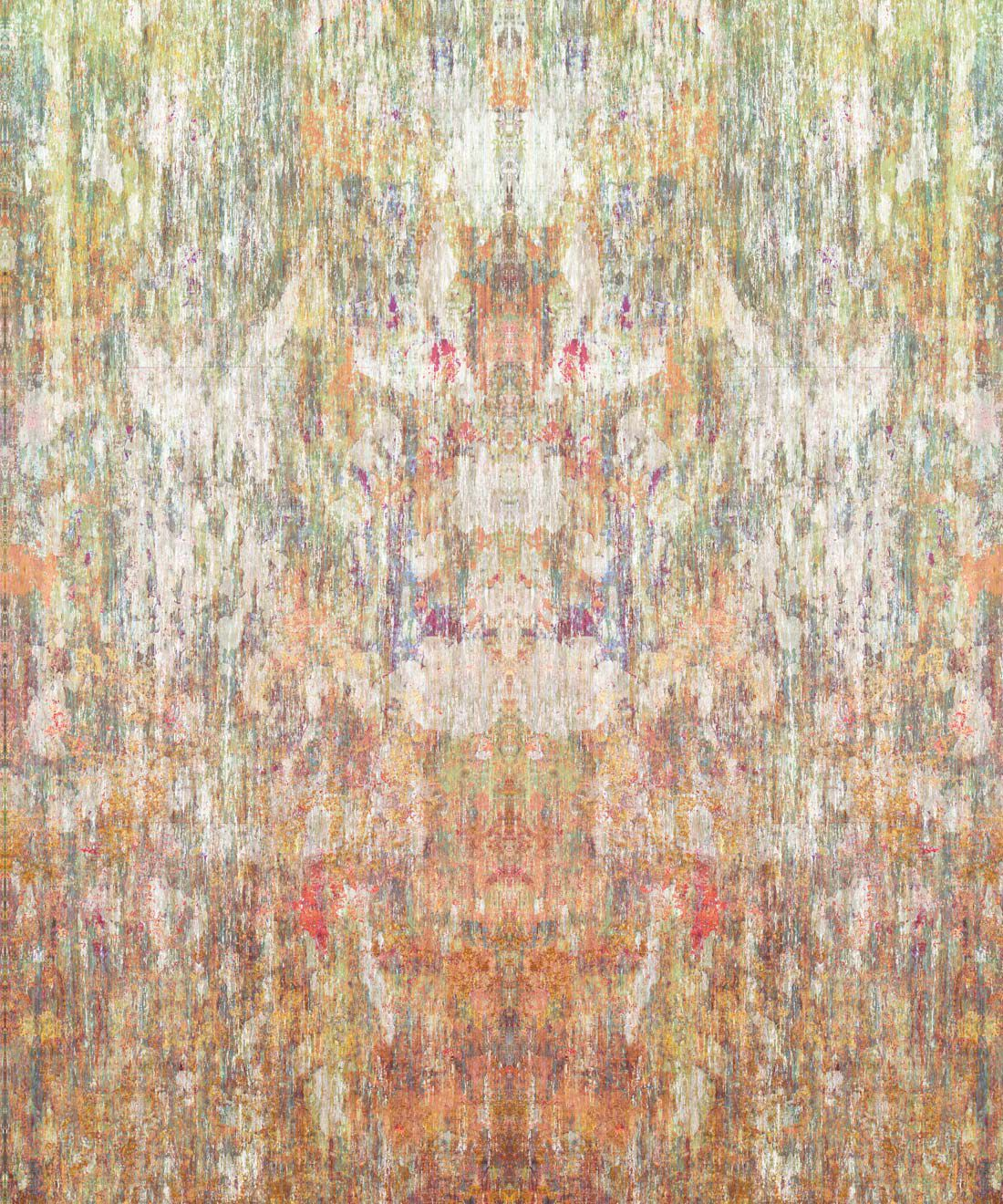 Patina Wallpaper by Simcox • Color Earth • Abstract Wallpaper • swatch