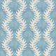 Fern Wallpaper • Blue Wallpaper •Swatch