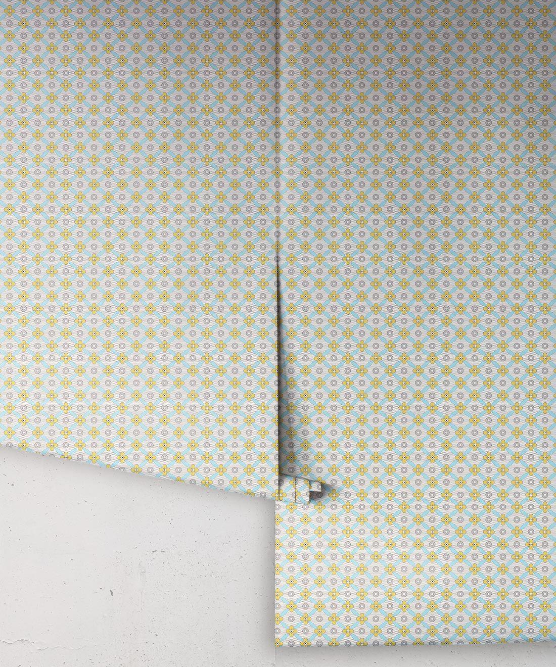 Petite Wallpaper • Mustard • Rolls