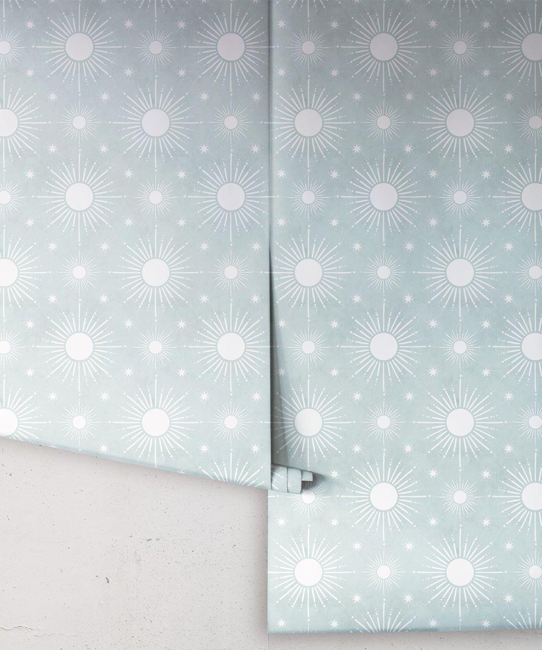 Sun Light Star Bright Wallpaper • Sea Spray • Rolls