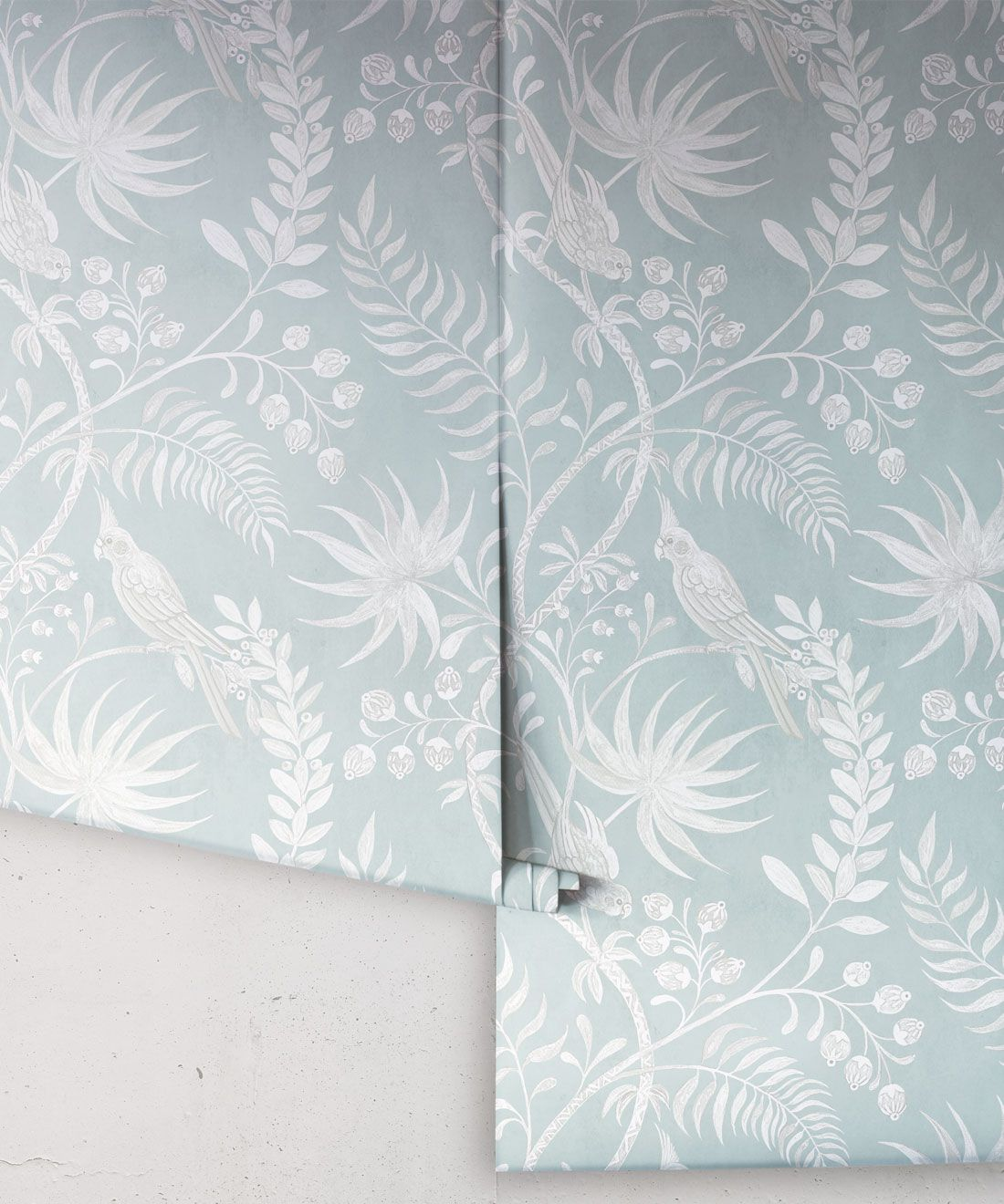 Tropicana Wallpaper • Sea Spray • Rolls