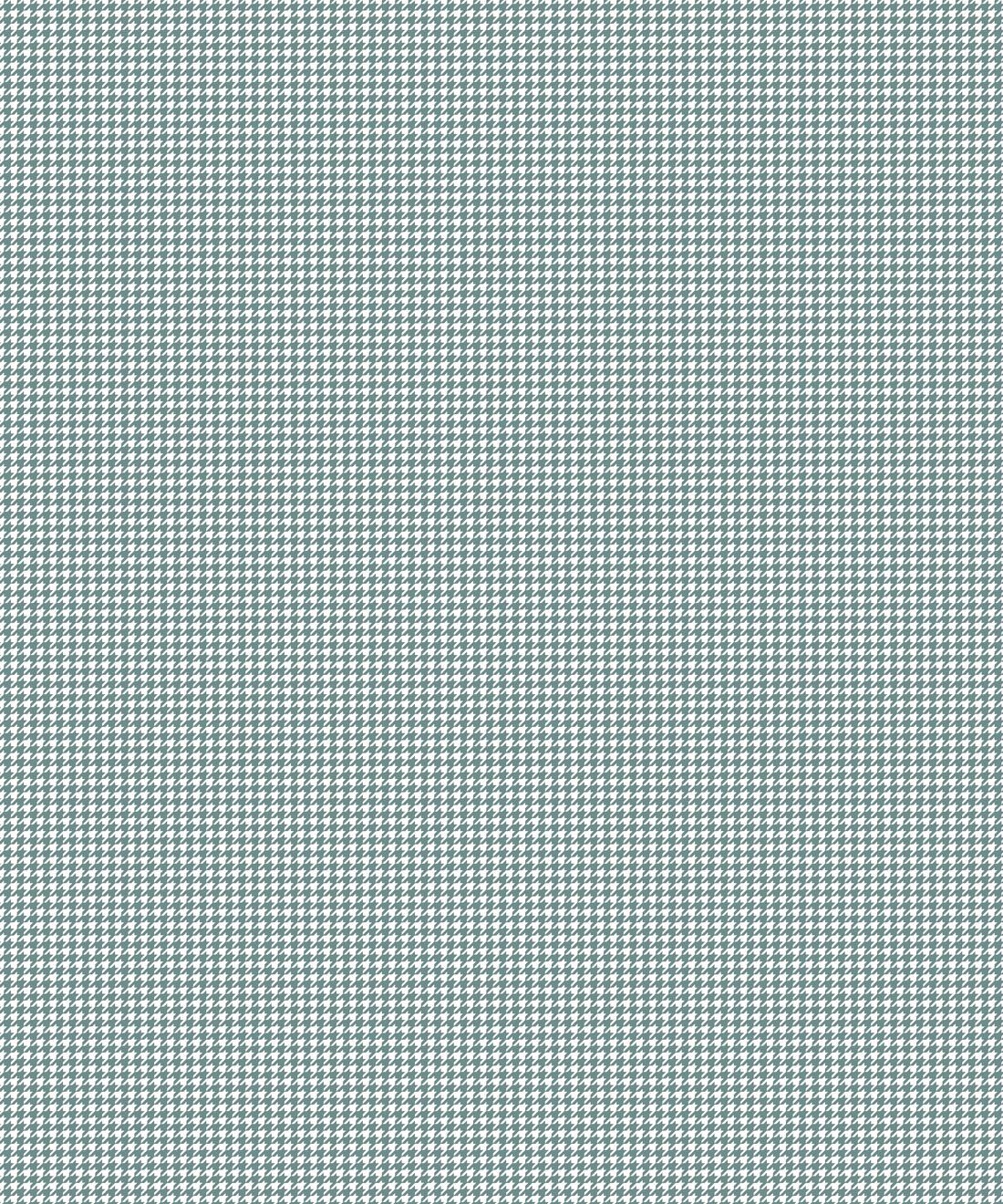 Houndstooth Wallpaper • Dogstooth Wallpaper • Teal Pewter •Swatch