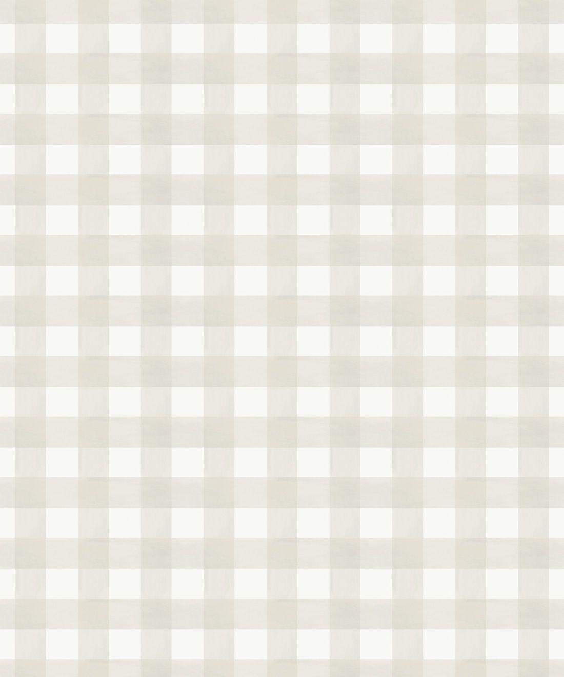 Check Wallpaper • Beige •Swatch