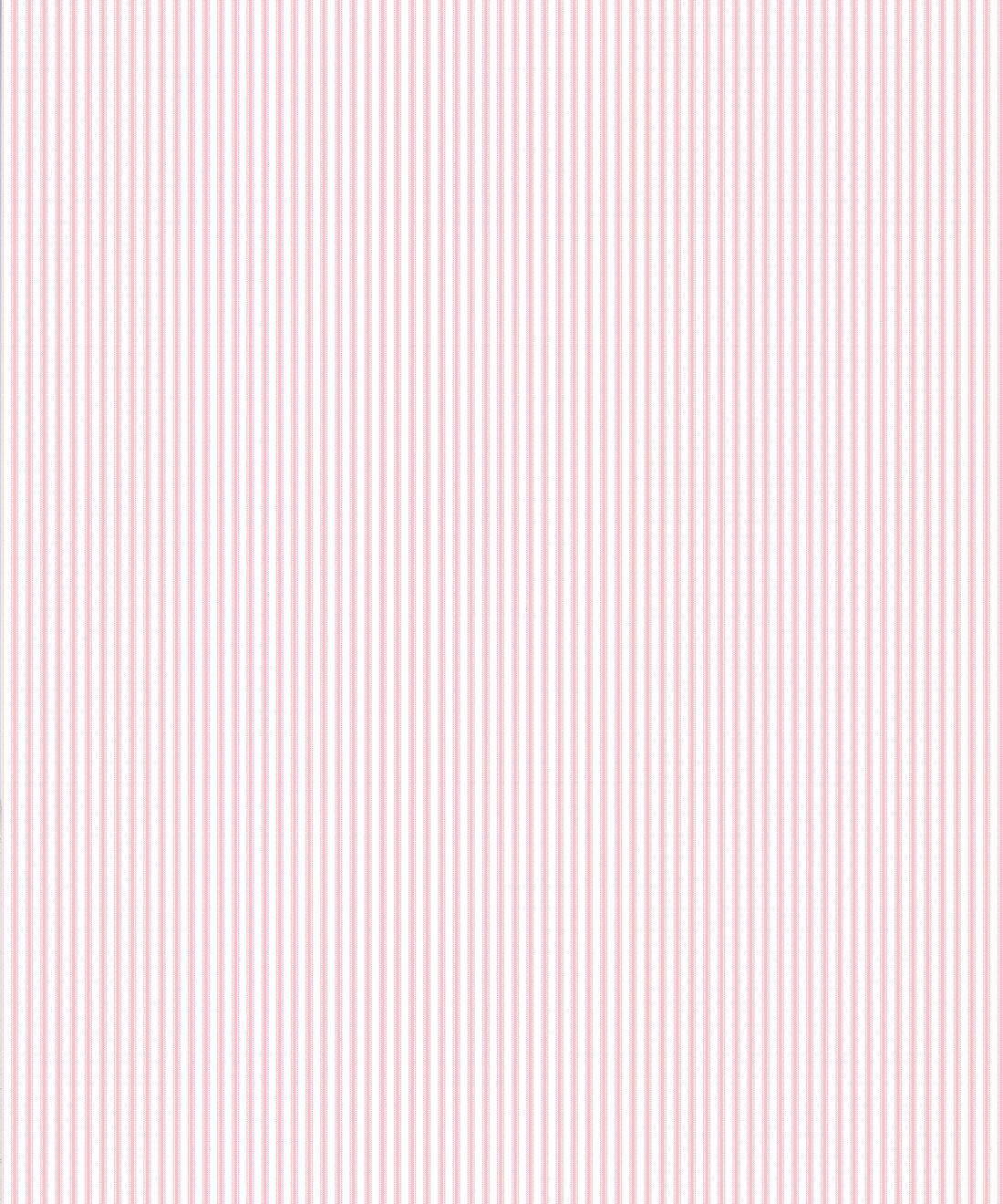 Ticking Stripe Wallpaper • Pink Wallpaper • Swatch