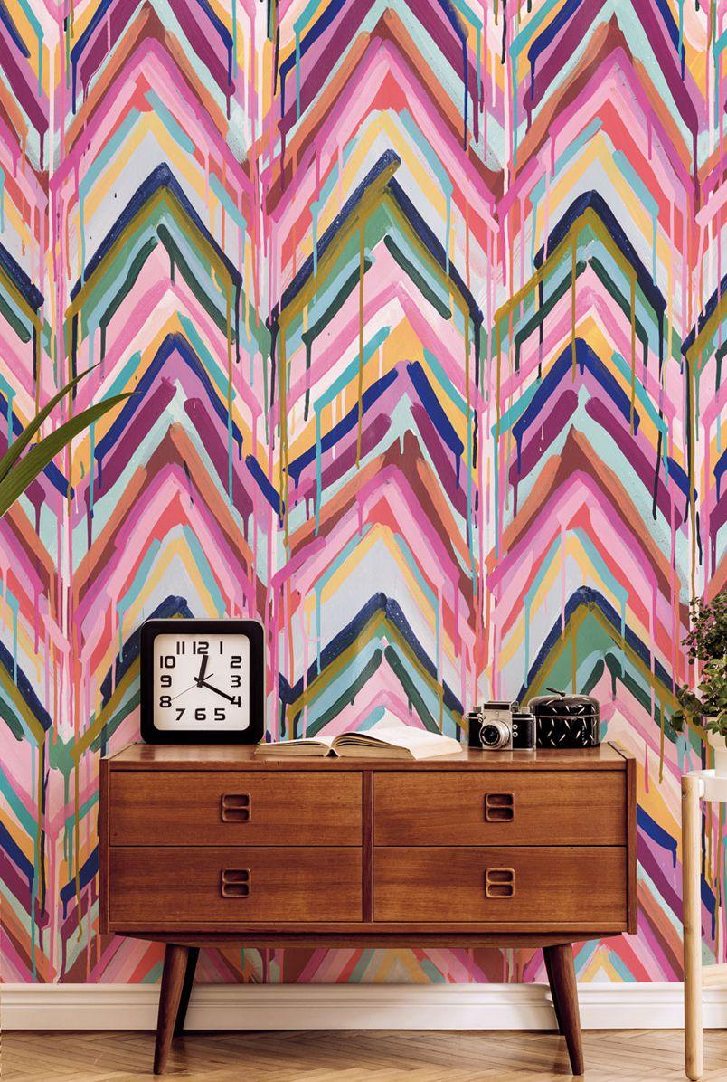 New Wallpaper Designs from Tiff Manuell