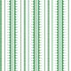 La Grand Coquille • Stripe and Scallop Wallpaper • Forest Green • Swatch
