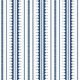 La Grand Coquille • Stripe and Scallop Wallpaper • Royal Blue • Swatch