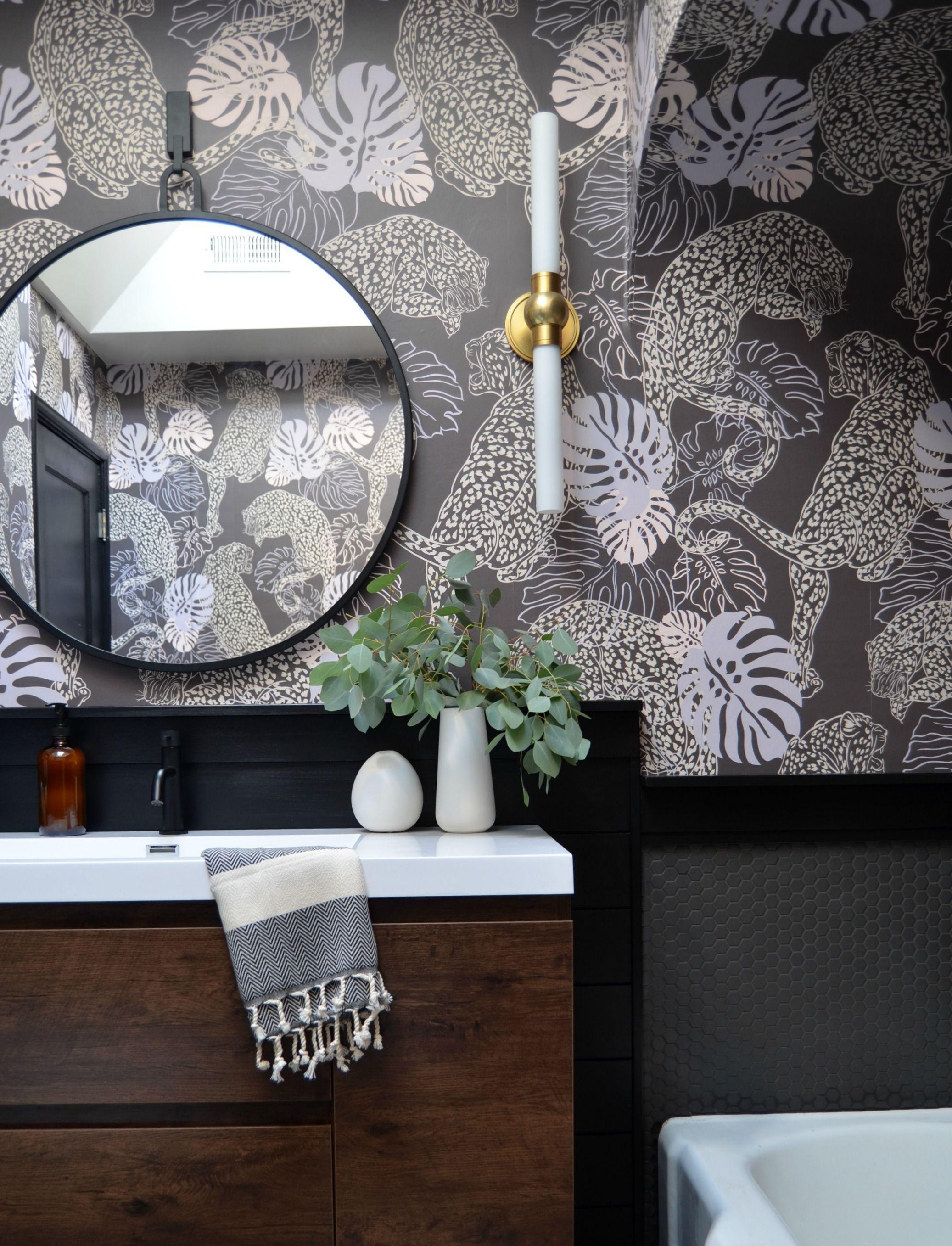 Leopard Stunning Art Deco Inspired Wallpaper Milton King Uk