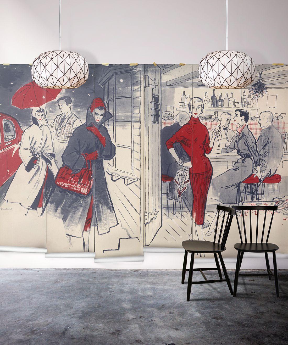 In Vogue Mural