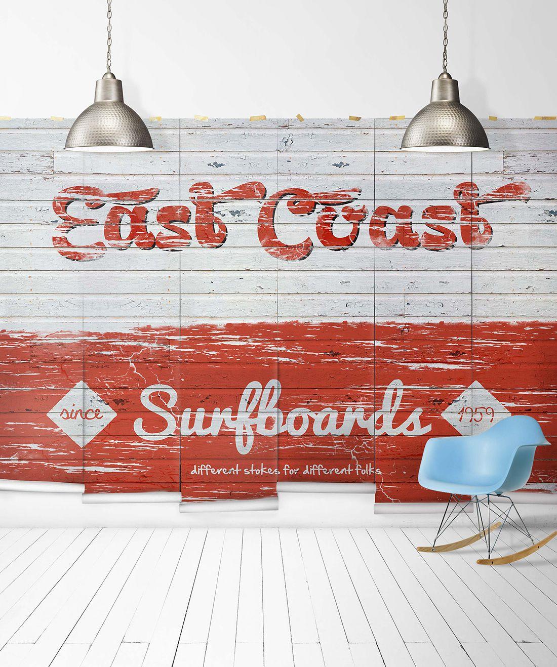 East Coast Surfboards Mural