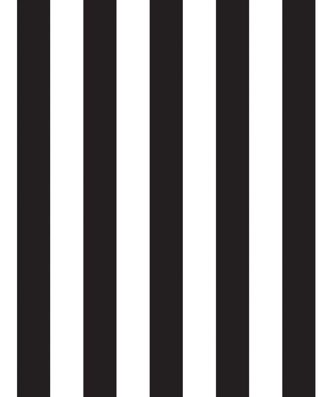 Black & White Stripe Wallpaper