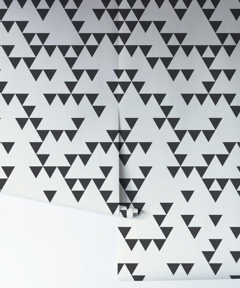 Fracture - Geometric Triangle Wallpaper